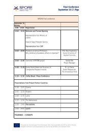 preliminary conference programme - CEP, the European ...