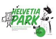 BEGLEITMATERIAL FÜR SCHULEN Zur Ausstellung Helvetia Park