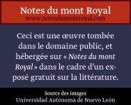 Littérature japonaise - Notes du mont Royal