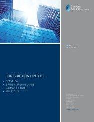 jurisdiction update: - Conyers Dill & Pearman