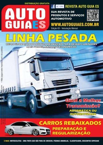 Revista Auto Guia ES 3ª Edição