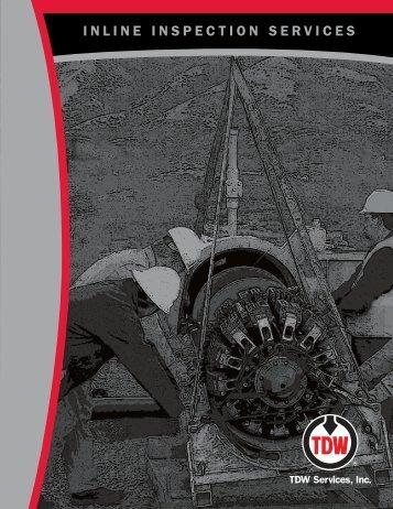 INLINE INSPECTION SERVICES - T.D. Williamson, Inc.