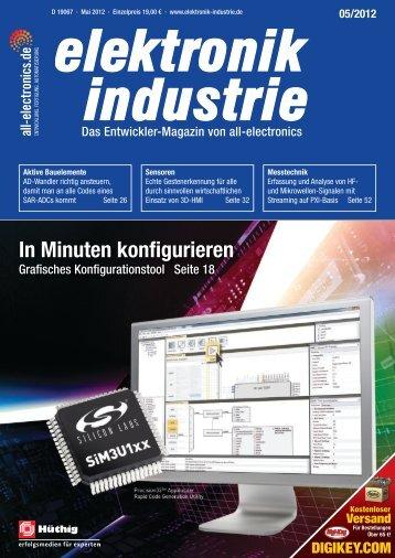 PDF-Ausgabe herunterladen (39.5 MB) - elektronik industrie