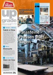 upgrade no. 06 - Mai 2006 - Lasco Umformtechnik GmbH