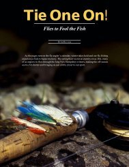 Tie Your Own Flies! - New Hampshire Fish and Game Department
