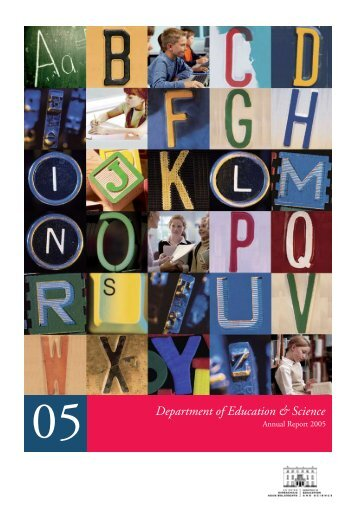 Department of Education and Science Annual Report 2005 (File ...