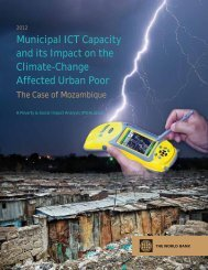 Municipal ICT Capacity and its Impact on the Climate-Change ...