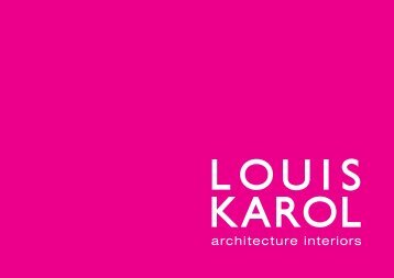 architecture interiors - Louis Karol