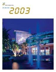 Em Revista 2003 - Sonae Sierra