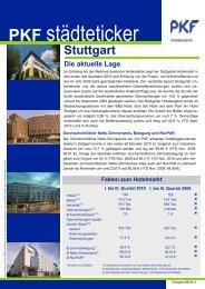 Stuttgart, Januar 2011 - PKF hotelexperts