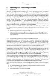 Einleitung und Anwendungshinweise - LANUV NRW