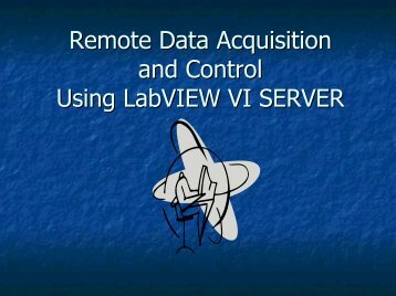 Remote Data Acquisition and Control Using ... - Cnrt.scsu.edu