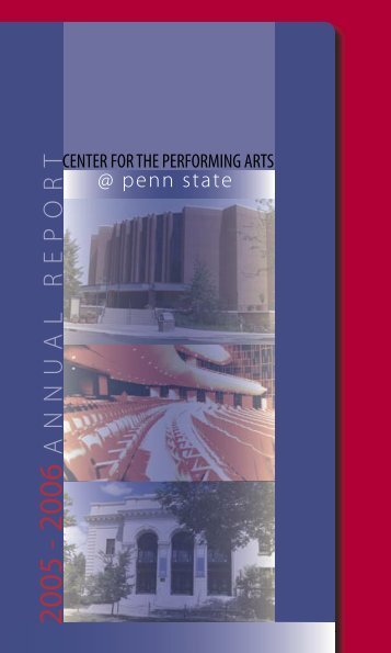 2005-2006 - Center for the Performing Arts