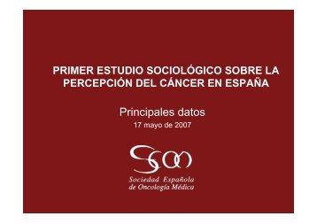 Primer estudio sociológico sobre la percepción del ... - Diario Médico