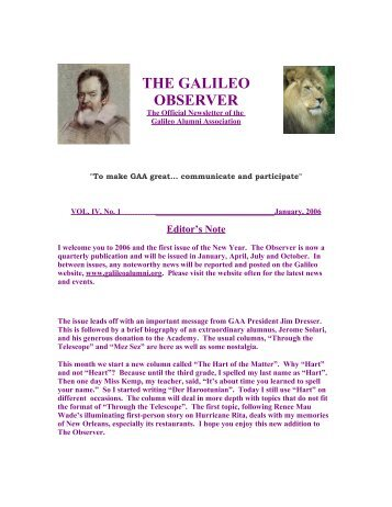 analysis of galileos letter Analysis of galileo's letter the letter to the grand duchess christina of tuscany was written by galileo galilei in 1615 galileo was an italian scientist that .
