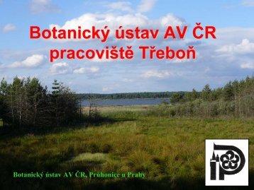 Botanický ústav AV ČR pracoviště Třeboň