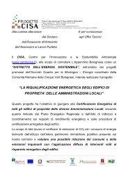 lettera - Centro CISA