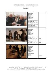 5 Peter Kallfels - Skulptur Pinguine - Galerie Oben