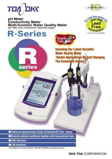 pH Meter Conductivity Meter Multi-function Water Quality Meter