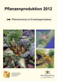 Pflanzenschutz im Erwerbsgemüsebau - Pflanzenproduktion 2012