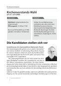 Gemeindebrief April - Mai 2009 - Ev. Johannesgemeinde Gießen - Page 4
