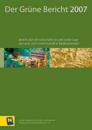 Milchpreisentwicklung der NÖ Molkereien 2007 - Grüner Bericht
