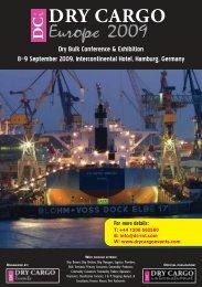 DRY CARGO Europe 2009 - Dry Cargo International