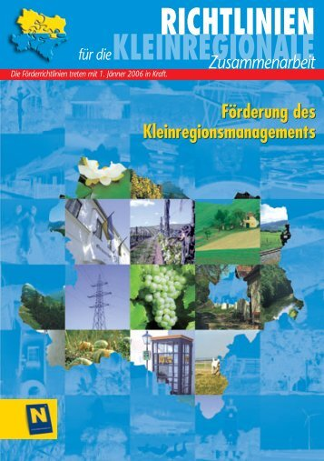 RICHTLINIEN - Raumordnung und Regionalpolitik