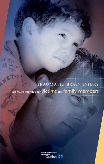Traumatic Brain Injury - Société de l'assurance automobile du ...