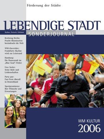 Sonderjournal 2006 zum downloaden - Lebendige Stadt