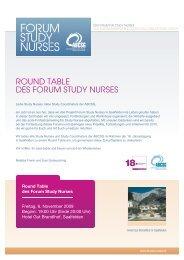Download Einladung und Anmeldung - Forum Study Nurses ...