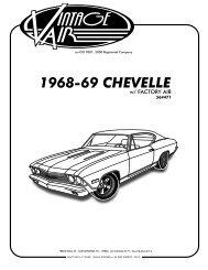 plastic cowl panel vent leaf screen w// A//C 68-72 Chevy Chevelle Pontiac GTO 442