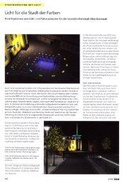 Licht für die Stadt der Farben - Leipziger Leuchten