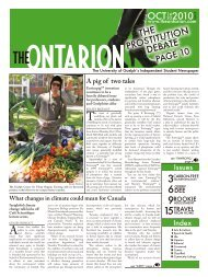 OCT 2010 THE - The Ontarion