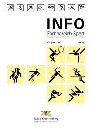 Sport-Info Heft 29 1-2007.pdf - Neuer Lehrer-Rechner an der UNI ...
