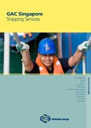 GAC Singapore Shipping Services