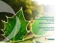 Ympäristömittausten liiketoimintamahdollisuuksista - Green Net ...