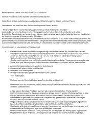 Markus Brenner – Rede zum Bischofsbericht ... - Kirche für morgen