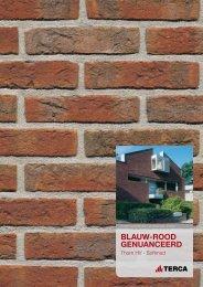 BLAUW-ROOD GENUANCEERD