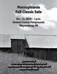 Please click here to view Pennsylvania Fall Classic catalog!!!
