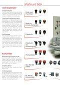 Schalter, Taster und Signalleuchten - Carlo Gavazzi - Seite 4