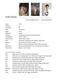 Vita PDF - André Würde