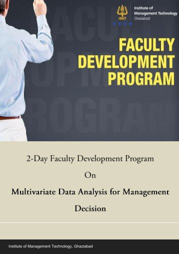 Management Development Programme - IMT