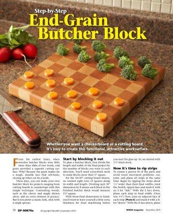 End-Grain Butcher Block