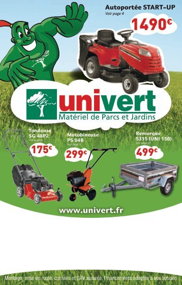 catalogue univert 2012 - Loca Briec