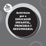 Activitats per a EDUCACIÓ INFANTIL, PRIMÀRIA I SECUNDÀRIA