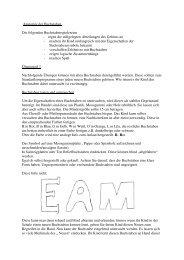 Anatomie der Buchstaben Die folgenden ... - Lesen lernen zu Hause.