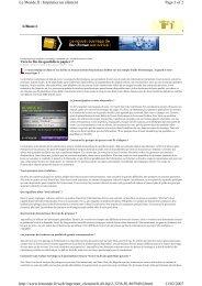 Page 1 of 2 Le Monde.fr : Imprimez un élément 11/02/2007 http ...