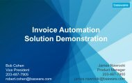 Invoice Automation Solution Demonstration - Basware