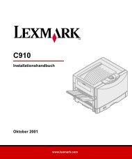 Anzeigen - Lexmark